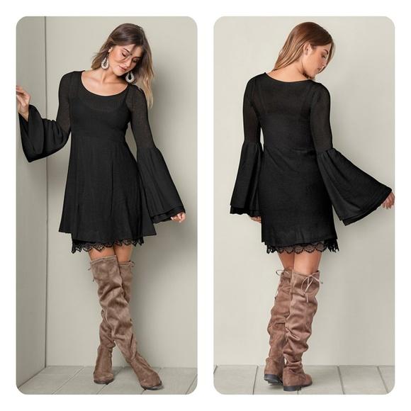 1b1211dd2b Boho sweater dress